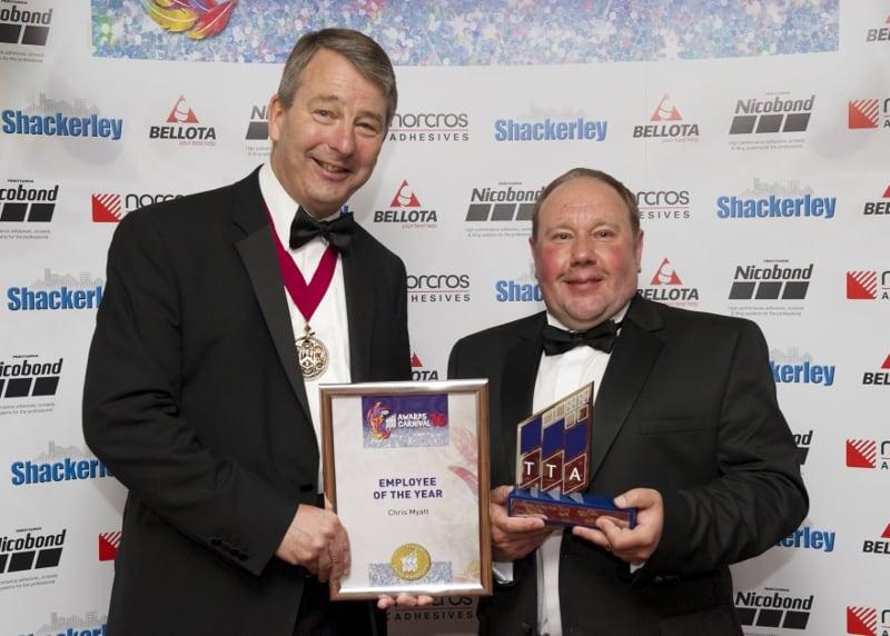 TTA Awards 2016-Employee of the Year, Tom Rider and Chris Myatt
