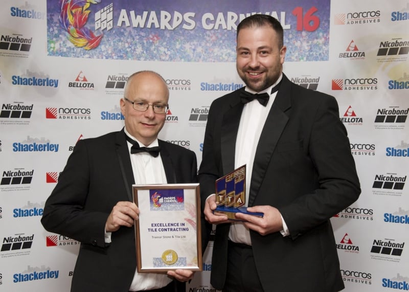 TTA Awards 2016-Excellence in Tile Contracting, Simon Newell and Peter Trainor