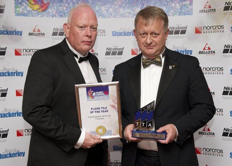 TTA Awards 2016-Floor Tile of the Year, Huw Morgan and Steve Whitehurst