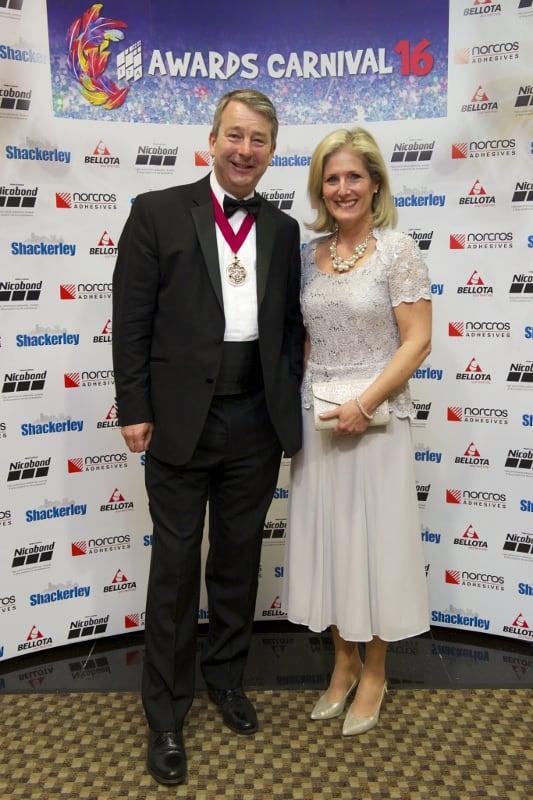 TTA Awards 2016, Caroline Rider and Tom Rider