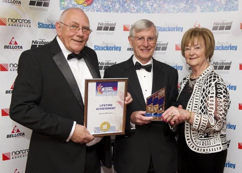 TTA Awards 2016 Lifetime Achievement Award, Ian Kershaw, James McCann and Pat McCann