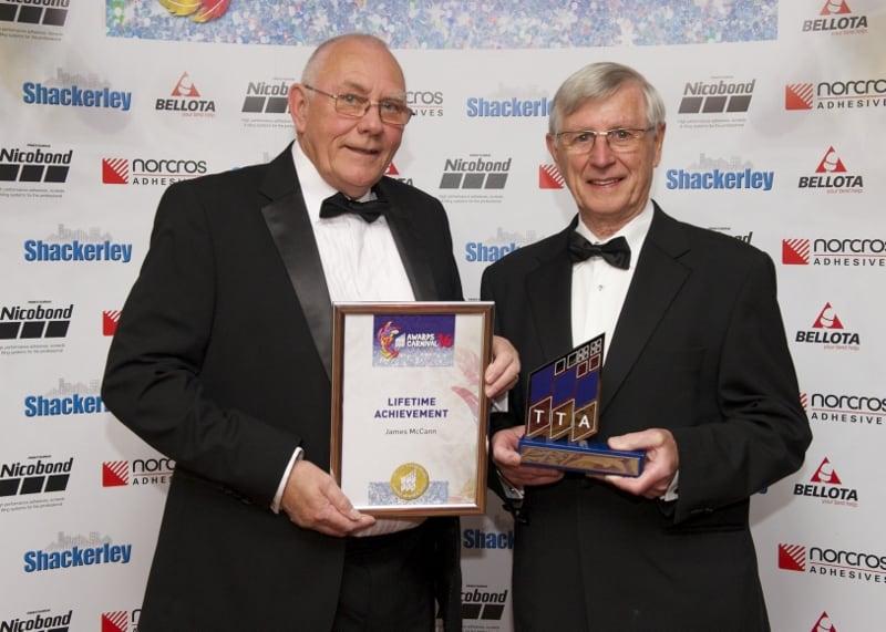 TTA Awards 2016 Lifetime Achievement Award, Ian Kershaw and James McCann