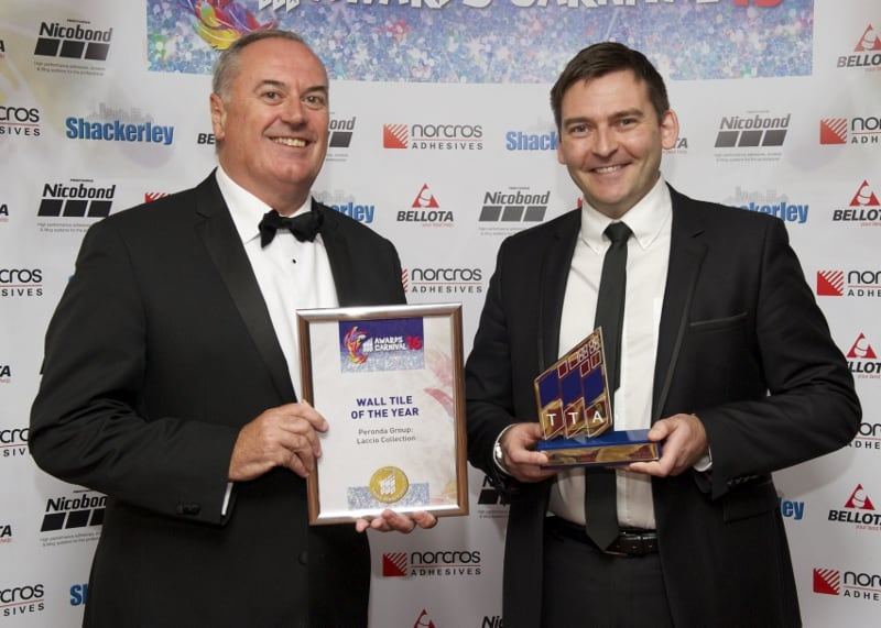 TTA Awards 2016 Wall Tile of the Year, Peter Bell and Aidan Roche