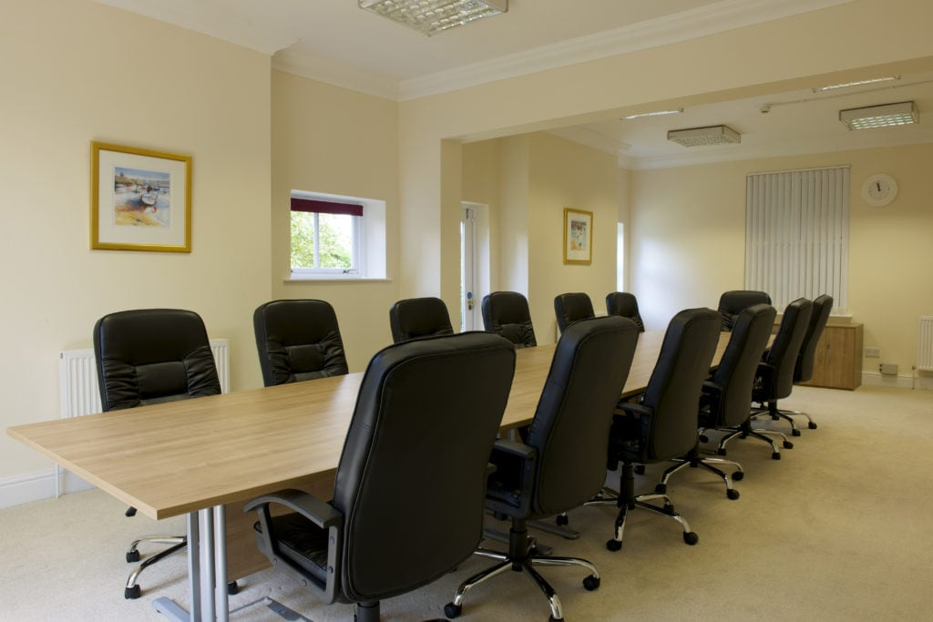 Meeting room facilities
