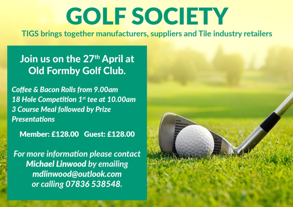 TIGS golf day 27th April